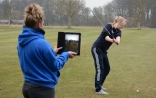 Students use latest in sports technology