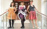 Fashion students win in recycled clothing competition