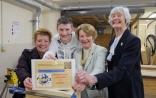 Joinery student grateful for inaugural Rotary Club award
