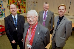 MBE for long-serving college governor