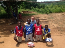 Student takes rugby project to Ghana villages