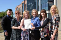 College recognised for outstanding customer service