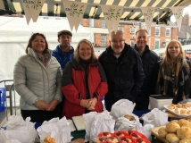 College supports Beverley Food Festival