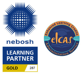 NEBOSH and ELCAC Logos